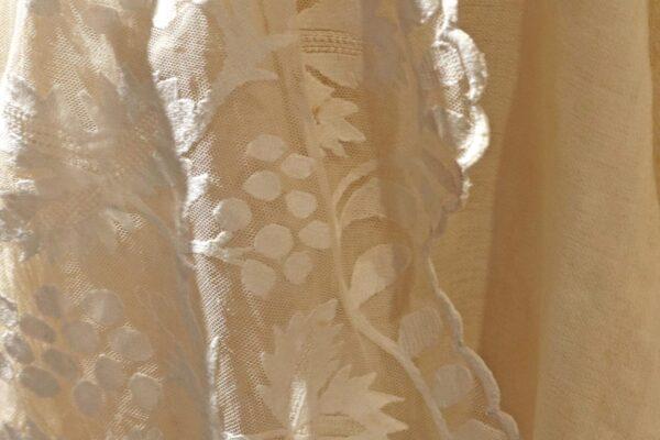 klein - kanten shawl detail