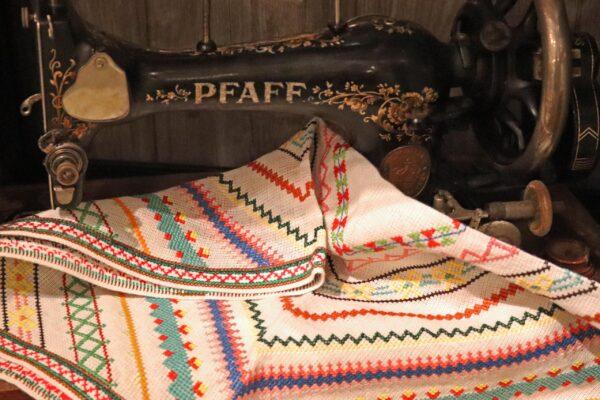 klein - naaimachine en borduurlap