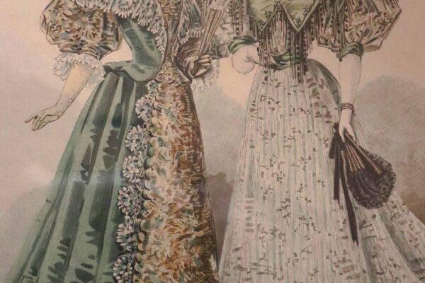klein - prent La Mode Illustrée