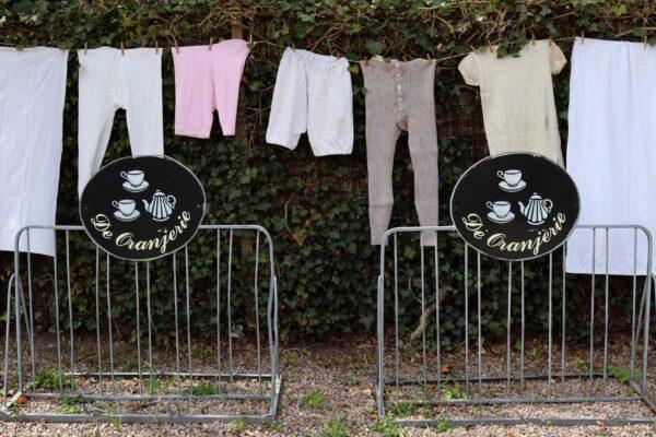 klein - waslijn en fietsrekken